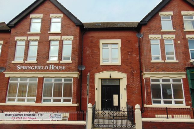 Thumbnail Duplex to rent in Springfield Road, Blackpool