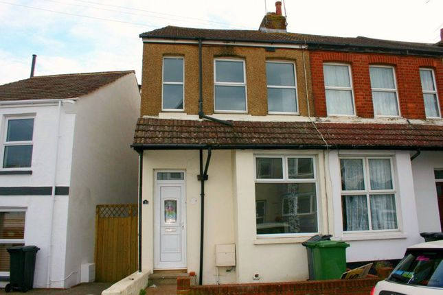 Thumbnail Terraced house to rent in Chandler Road, Bexhill On Sea