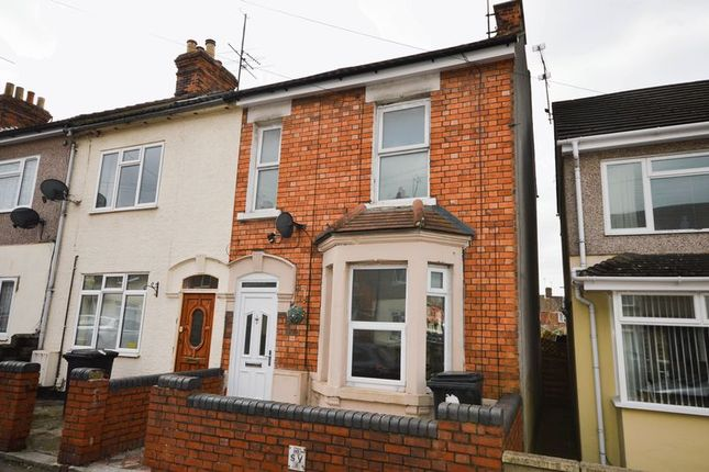 Thumbnail End terrace house for sale in Morrison Street, Swindon