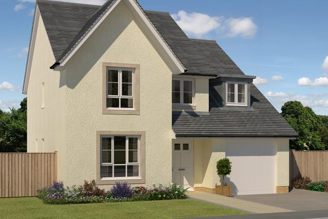 "Thumbnail Detached house for sale in ""Tarbert"" at Greystone Road, Kemnay, Inverurie"