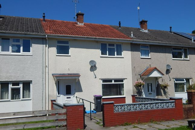 Thumbnail Terraced house to rent in Davis Close, Griffithstown, Pontypool