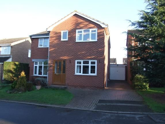 Thumbnail Detached house for sale in Exeter Close, East Leake, Loughborough, Leicestershire