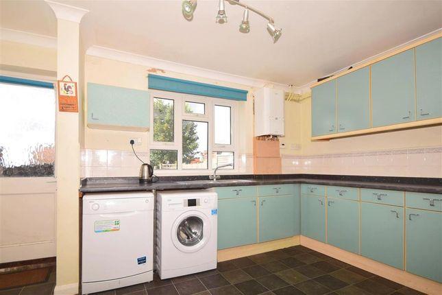 Thumbnail Semi-detached house for sale in Wood Avenue, Folkestone, Kent