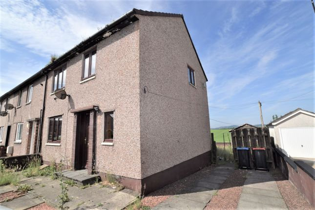 End terrace house for sale in Downsfoot Road, Locharbriggs, Dumfries
