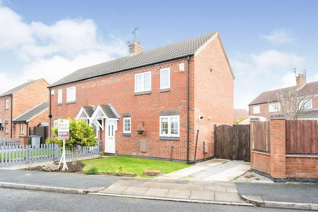 Semi-detached house for sale in Bradgate Close, Moreton, Wirral