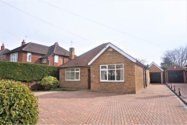 Thumbnail Detached bungalow for sale in Southwood Road, Cottingham