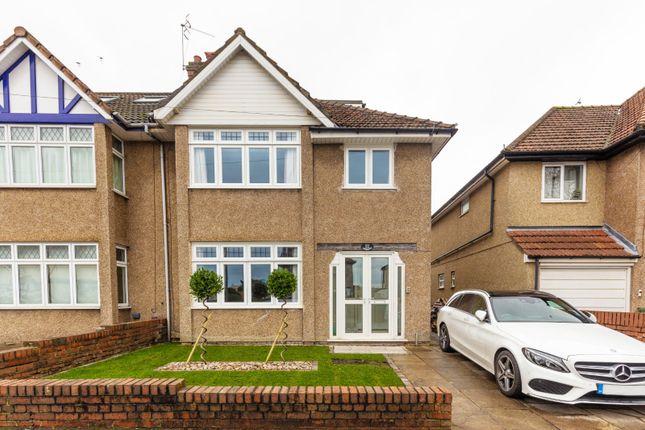 Thumbnail Semi-detached house for sale in Cransley Crescent, Henleaze, Bristol