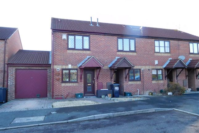 Thumbnail End terrace house to rent in New Road, Stoke Gifford