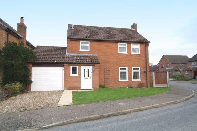 Thumbnail Detached house for sale in Humphreys Close, Forncett St. Peter, Norwich