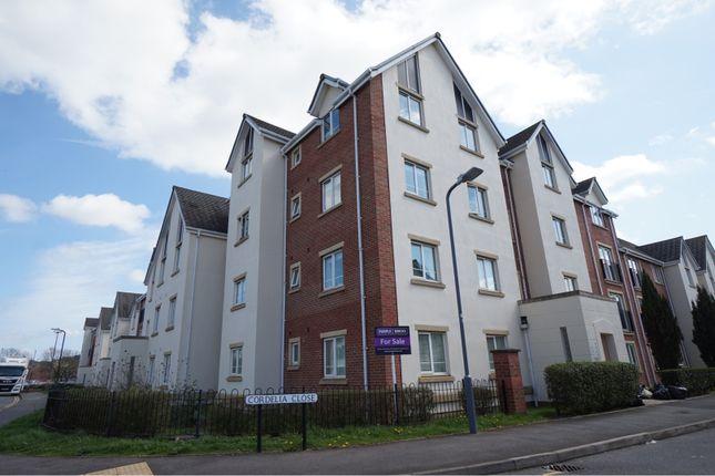 Thumbnail Flat for sale in Cordelia Close, Stratford-Upon-Avon
