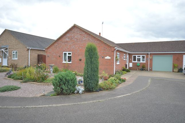 Thumbnail Detached bungalow for sale in Wysteria Way, Snettisham, King's Lynn