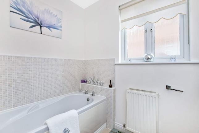 Bathroom of Berryhill Crescent, Wishaw, North Lanarkshire ML2