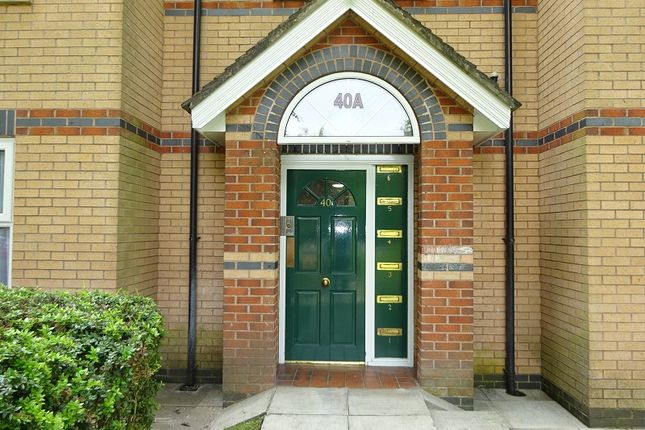 Entrance Porch of 40A, Demesne Road, Whalley Range, Manchester. M16