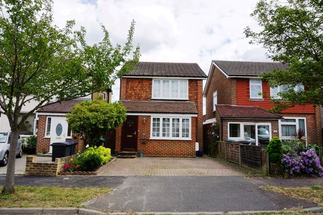 Thumbnail Detached house for sale in Ashby Avenue, Chessington