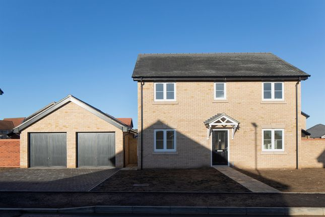 Thumbnail Detached house for sale in Hicfield Road, Beck Row, Bury St. Edmunds