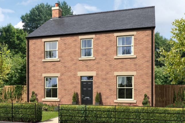 Thumbnail Detached house for sale in Greysfield, Backworth Park, Newcastle Upon Tyne