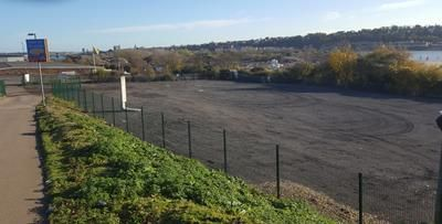 Thumbnail Land to let in Land Fronting Roman Way, Medway Valley Park, Strood, Rochester, Kent