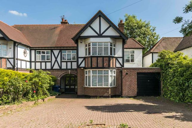 Thumbnail Semi-detached house to rent in Marsh Lane, Mill Hill