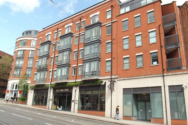 Thumbnail Flat for sale in Halifax Place, Nottingham