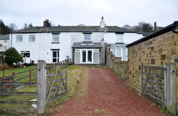 Thumbnail Terraced house for sale in Hillersdon Terrace, Nenthead, Cumbria.