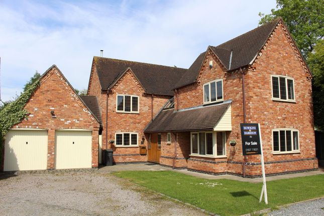 Thumbnail Detached house for sale in Congerstone, Warwickshire