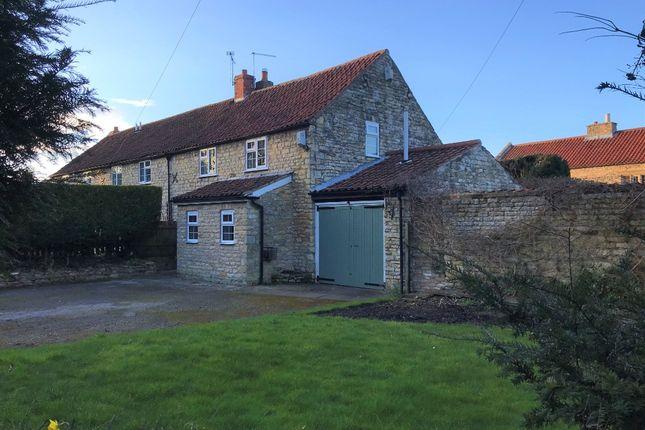 Semi-detached house to rent in 2 Gospel Lane, Leadenham, Lincoln