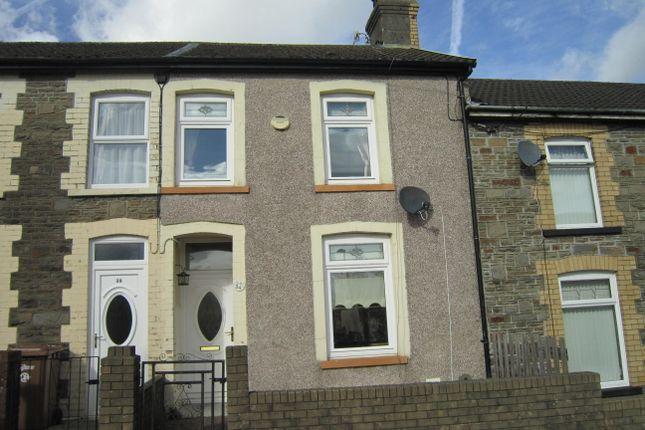 Thumbnail Terraced house for sale in Upp[Er Wood Street, Bargoed