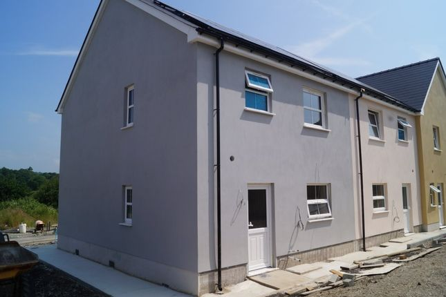 Thumbnail End terrace house for sale in Heol Dewi, Newcastle Emlyn