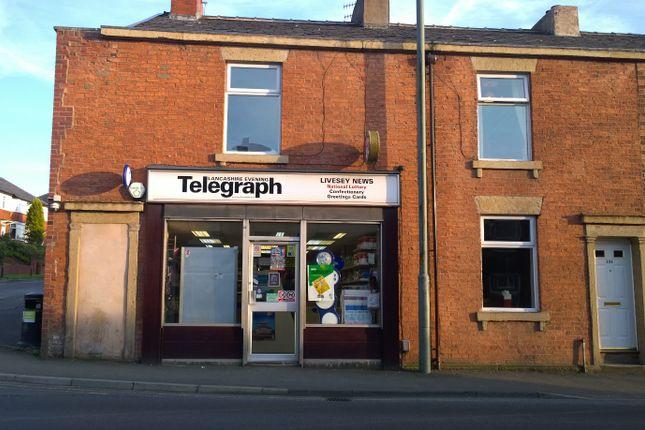 Thumbnail Retail premises for sale in Blackburn, Lancashire