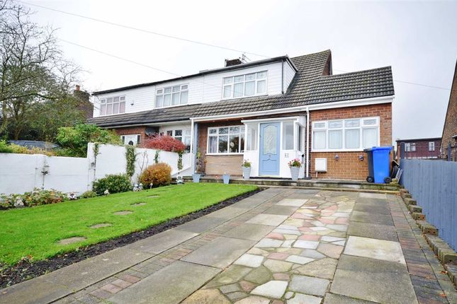 Thumbnail Semi-detached bungalow for sale in Hollins Road, Hindley, Wigan