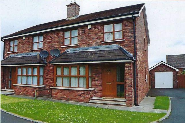 Thumbnail Semi-detached house to rent in Belfast Road, Lurgan, Craigavon