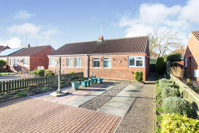 Thumbnail Semi-detached bungalow for sale in New Walk Close, Driffield