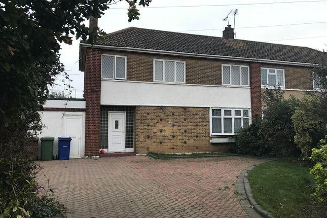 Thumbnail Semi-detached house for sale in Princess Margaret Road, East Tilbury, Tilbury