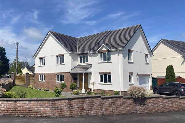 Thumbnail Detached house for sale in Cae Glas, St. Clears, Carmarthen