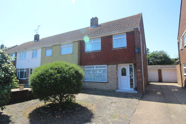 Thumbnail End terrace house for sale in Princes Road, Langney Point, Eastbourne