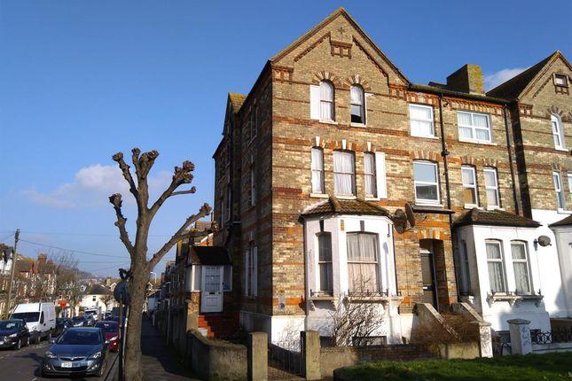 Thumbnail End terrace house for sale in Cheriton Road, Folkestone, Kent