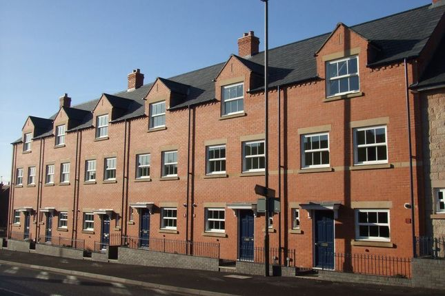 Thumbnail Town house to rent in 6 Speeds Court, King Street, Alfreton
