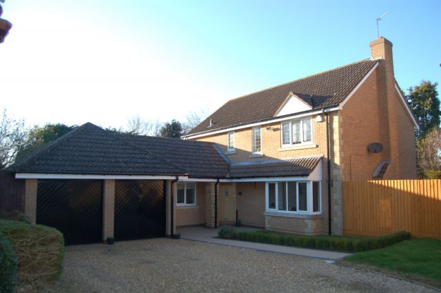 Thumbnail Detached house for sale in Jeyes Close, Moulton, Northampton