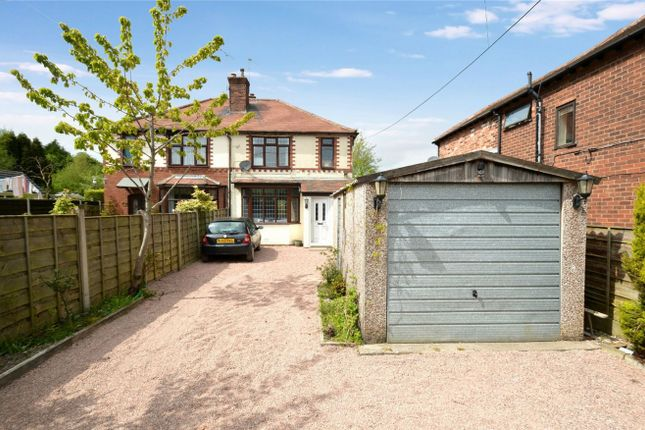 Thumbnail Semi-detached house for sale in Congleton Road, Macclesfield, Cheshire