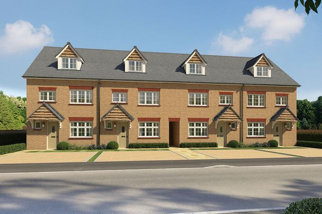 """Thumbnail End terrace house for sale in """"Grantham End"""" at Eurolink Way, Sittingbourne"""