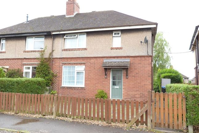 Thumbnail Semi-detached house for sale in Argles Road, Leek, Staffordshire