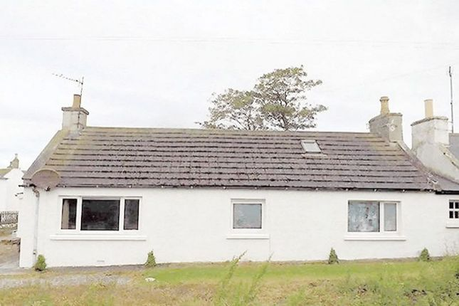 Thumbnail Semi-detached house for sale in Hillview Cottage And Plot, Porthmahomack Tain IV201Yr