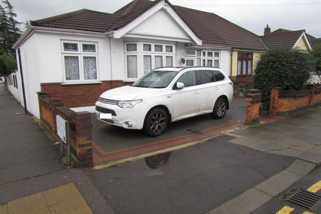 Thumbnail Semi-detached bungalow to rent in Somerville Road, Chadwell Heath, Romford