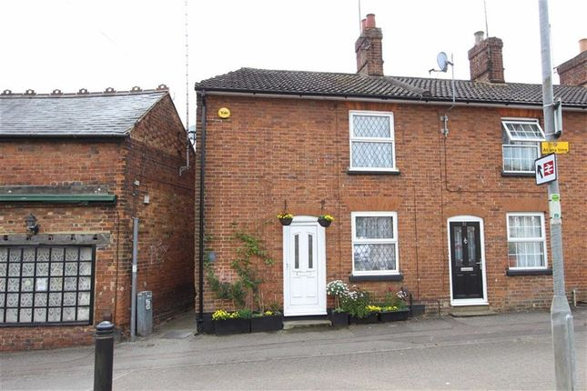 Thumbnail End terrace house for sale in Old Road, Leighton Buzzard