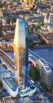 Thumbnail Flat for sale in One Blackfriars, London