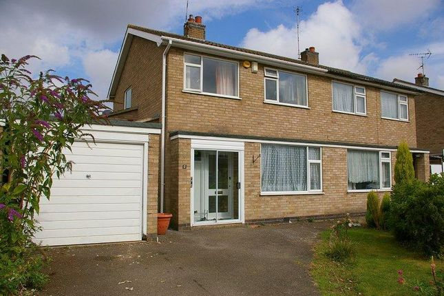 Thumbnail Property to rent in Hyde Close, Oadby, Leicester