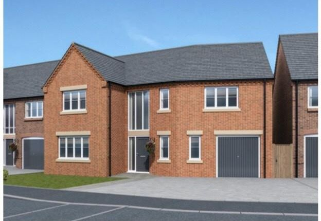 Thumbnail Property for sale in Plot 15, 5 Mill View Gardens, Austrey, Warwickshire