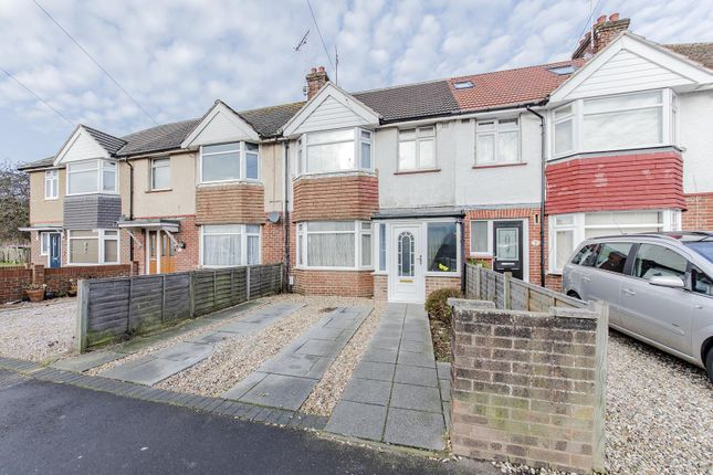 Thumbnail Terraced house for sale in Northbrook Road, Broadwater, Worthing