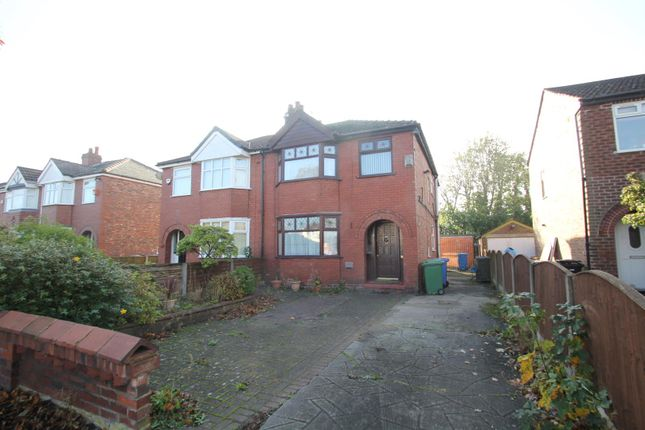 Thumbnail Semi-detached house for sale in Derbyshire Lane West, Stretford, Manchester