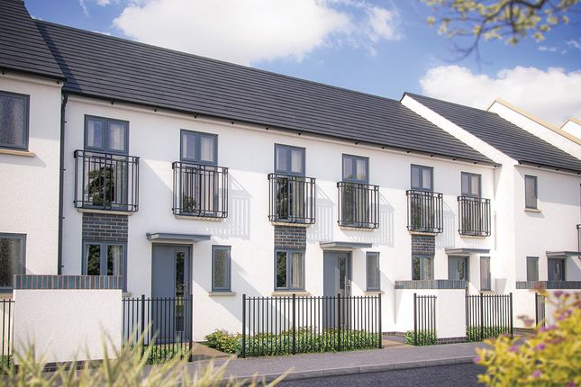 "Thumbnail Terraced house for sale in ""The Amberley"" at Oak Leaze, Patchway, Bristol"